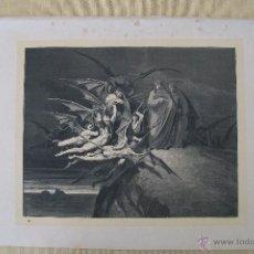 Arte: Nº 47 LA DIVINA COMEDIA POR GUSTAVO DORÉ 1870 MONTANER Y SIMÓN 36 X 26.5 CM 1ª EDICIÓN ESPAÑOLA. Lote 47764284