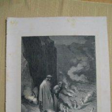 Arte: Nº 45 LA DIVINA COMEDIA POR GUSTAVO DORÉ 1870 MONTANER Y SIMÓN 36 X 26.5 CM 1ª EDICIÓN ESPAÑOLA. Lote 47766441