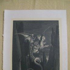 Arte: Nº 41 LA DIVINA COMEDIA POR GUSTAVO DORÉ 1870 MONTANER Y SIMÓN 36 X 26.5 CM 1ª EDICIÓN ESPAÑOLA. Lote 47769629