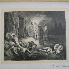 Arte: Nº 28 LA DIVINA COMEDIA POR GUSTAVO DORÉ 1870 MONTANER Y SIMÓN 36 X 26.5 CM 1ª EDICIÓN ESPAÑOLA. Lote 47808333