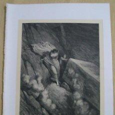 Arte: Nº 31 LA DIVINA COMEDIA POR GUSTAVO DORÉ 1870 MONTANER Y SIMÓN 36 X 26.5 CM 1ª EDICIÓN ESPAÑOLA. Lote 47823747