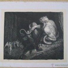 Arte: Nº 13 LA DIVINA COMEDIA POR GUSTAVO DORÉ 1870 MONTANER Y SIMÓN MINOS 36 X 26.5 CM 1ª EDICIÓN ESP.. Lote 47835966