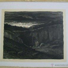 Arte: Nº 8 LA DIVINA COMEDIA POR GUSTAVO DORÉ 1870 MONTANER Y SIMÓN 36 X 26.5 CM 1ª EDICIÓN ESPAÑOLA. Lote 47871802