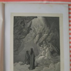 Arte: XILOGRAFÍA Nº 11 PARAISO DE DANTE POR GUSTAVE DORÉ MONTANER Y SIMÓN BARCELONA 1872. Lote 48189477