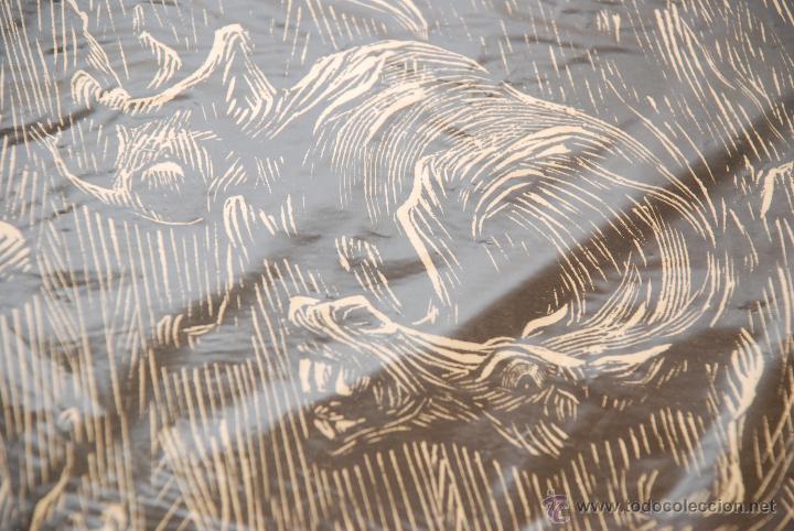 Arte: XILOGRAFÍA - REPRESENTA LA LEYENDA DE LA DONCELLA DE BUERA - MEDIDA: 50X39 - FIRMADA Y NUMERADA - - Foto 4 - 48308379