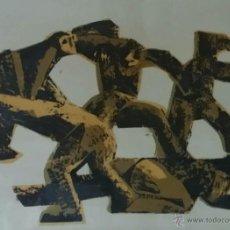 Arte: KOSTA RADOVANI: XILOGRAFÍA A COLOR, 1964 / FIRMADA Y NUMERADA A MANO. Lote 49231875