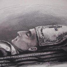 Art: FRAY FRANCISCO GAINZA OBISPO DE NUEVA CACERES FILIPINAS. Lote 50018357