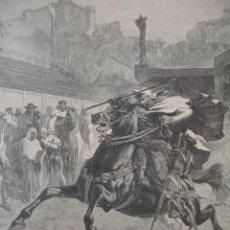 Arte: PEDRO EL GRANDE RAMON TUSQUETS . AÑO 1891. Lote 50722967