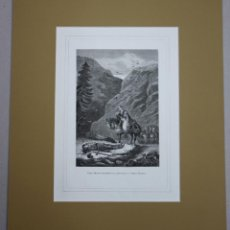 Arte: XILOGRAFIA CARLO MAGNO ENCUENTRA EL CADAVER DE SU SOBRINO ROLDAN. AÑO 1878. Lote 51311979