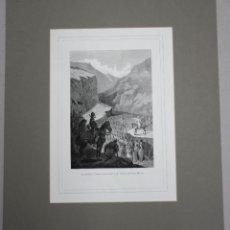 Arte: XILOGRAFIA EL ARZOBISPO TURPIN BENDICIENDO A LAS TROPAS DE CARLOMAGNO. AÑO 1878. Lote 51312509