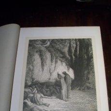 Arte: XILOGRAFÍA Nº 7 DIVINA COMEDIA GUSTAVO DORÉ 1872. Lote 51435267