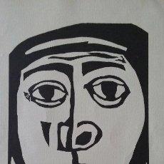 Arte: XILOGRAFIA ORIGINAL HERNÁNDEZ PIJUAN FIRMADA A LAPIZ, MEDIDAS 29,5X21CM. Lote 56842247