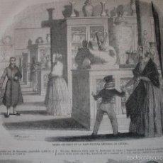 Arte: FABRICA DE SEVRES CERAMICA. CON TEXTO 2 H.AÑO 1859. Lote 56957066