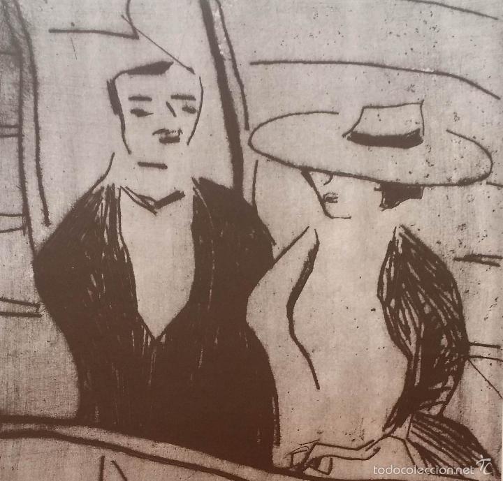 Arte: Erich HECKEL: cartel xilografico firmado en plancha / Galeria Nierendorf / 1973 - Foto 4 - 57932883