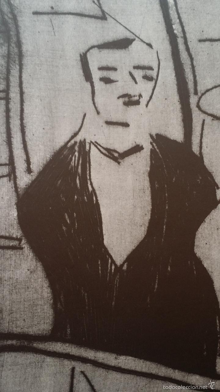 Arte: Erich HECKEL: cartel xilografico firmado en plancha / Galeria Nierendorf / 1973 - Foto 5 - 57932883