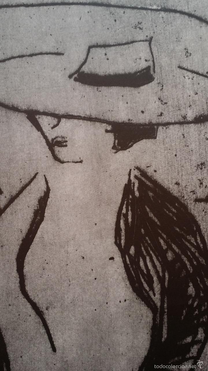 Arte: Erich HECKEL: cartel xilografico firmado en plancha / Galeria Nierendorf / 1973 - Foto 6 - 57932883