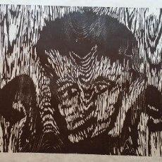 Arte: GUSTAV KLUGE: NIÑO LOBO / XILOGRAFÍA FIRMADA A LÁPIZ / 1985. Lote 58107174