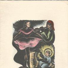 Arte: XILOGRAFIA D'ANTONI GELABERT - DÍPTIC. Lote 60357415