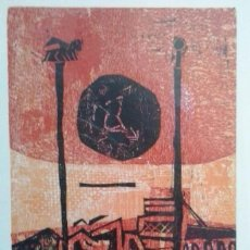Arte: LUÍS SEOANE, XILOGRAFÍA FIRMADA Y NUMERADA A LÁPIZ. Lote 62387692