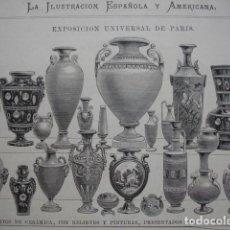 Arte: CERAMICA TERRA COTTA COMPANY DE WATCOMBE .AÑO 1878 . Lote 66813454