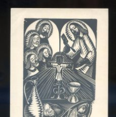 Arte: ARTISTA *ANTONI GELABERT I CASAS* AÑO 1972. IMPRESO *TORELL DE REUS* MEDS: 128 X 203 MMS.. Lote 68684381