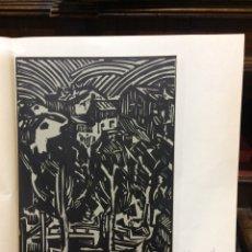 Arte: LUIS PUNTES XILOGRAFÍA ORIGINAL DEL ARTISTA 1973. Lote 69594665