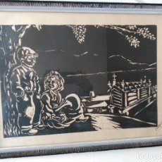 Arte: OBRA GRAFICA DE JOSÉ CID DOIRO .CIDOIRO, MOCIÑOS,1968. Lote 71827383