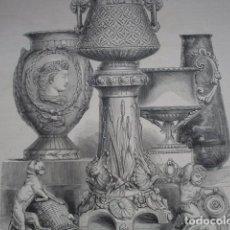 Arte: PABELLON INGLES CERAMICA BROWN WESTHEAD EXPOSICION UNIVERSAL DE PARIS AÑO 1878. Lote 72111003