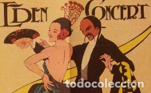 Arte: JOSEP ALUMÁ 1897-1974. XILOGRAFÍA. EDEN CONCERT, GRANDES BAILES DE MÁSCARAS CARNAVAL 1929. - Foto 4 - 95704396
