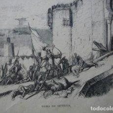 Arte: TOMA DE SEVILLA POR FERNANDO III. Lote 80171329