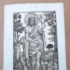 Arte: SAN JUAN BAUTISTA- MANRESA - IMPRENTA PABLO ROCA. Lote 83537968