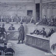 Arte: CAUSA DE PRADO TRIBUNAL DE PARIS AÑO 1888. Lote 85722392