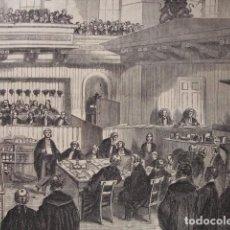 Arte: IRLANDA TRIBUNAL DE LOS FENIANOS .AÑO 1865. 45X32. Lote 96748239