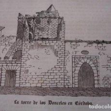 Arte: CORDOBA TORRE DE LOS DONCELES 1843. Lote 97767635