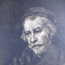 Arte: UN VIEJO REMBRANDT-AÑO 1891. Lote 97912927
