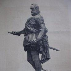 Arte: ALVARO DE BAZAN MARIANO BENLLIURE .AÑO 1891. Lote 98188259