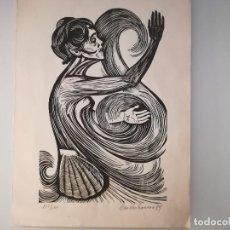 Arte: XILOGRAFÍA DE CASTRO COUSO. Lote 105762603