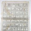 Arte: ALELUYA DE OFICIOS, TOREO - TOROS. CORRIDA HECHA PARA LA VISITA DEL REY CARLOS IV A BARCELONA, 1802.. Lote 110211391