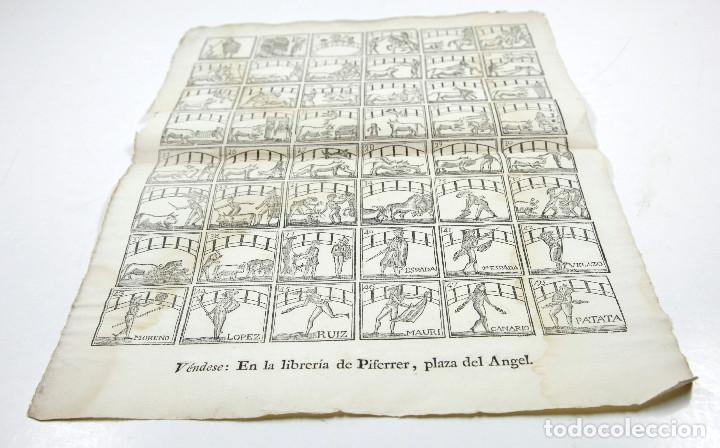 Arte: ALELUYA de oficios, TOREO - TOROS. CORRIDA HECHA PARA LA VISITA DEL REY CARLOS IV A BARCELONA, 1802. - Foto 3 - 110211391
