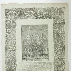 Arte: NOSTRA SENYORA DE MONTSERRAT, PAU ROCA. 30X42,5CM. MITAD S. XIX . Lote 110228959