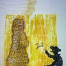 Arte: ALICIA?. XILOGRAFÍA A COLOR. 53/150. FIRMADO ERNESTO FONTECILLA. ESPAÑA. 1976. Lote 114910463