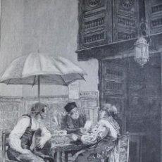 Arte: UN NOTARIO PUBLICO JIMENEZ PRIETO AÑO 1891. Lote 115543755