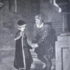 Arte: TERMINO DE LA AUDIENCIA AÑO 1891. Lote 115543815