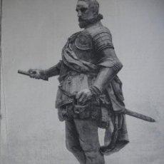 Arte: MADRID ESTATUA DE ALVARO DE BAZAN AÑO 1891. Lote 115543863
