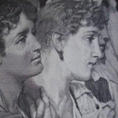Arte: LA AUDIENCIA ALMA TODEMA AÑO 1891. Lote 115543931