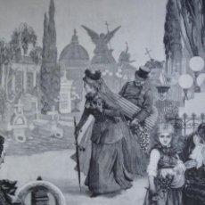 Arte: 1 DE NOVIEMBRE CONTRASTES MENDEZ BRINGA AÑO 1891. Lote 115544083