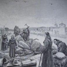 Arte: CONSUEGRA INUNDACIONES FRANCISCANOS AÑO 1891. Lote 115544363