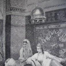 Arte: CANTO ARABE AÑO 1891. Lote 115564599