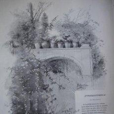 Arte: PRIMARE A APARICI POEMA DE CARLOS MIRANDA AÑO 1891. Lote 115568519
