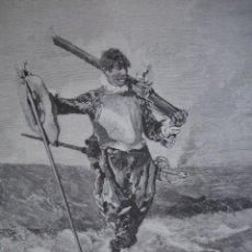 Arte: EL ARCABUCERO FORTUNY AÑO 1891. Lote 115569387